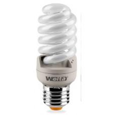 """Лампа энергосберегающая """"Wolta"""" 10YFSP20WE27 2700K"""