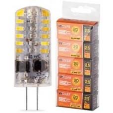 """Светодиодная лампа """"Wolta""""  25SJC-230-2.5G4 3000K"""
