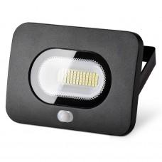 Прожектор светодиодный 30Вт с датчиком движения Wolta
